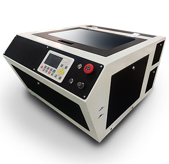 Miniature high-speed laser engraving machine